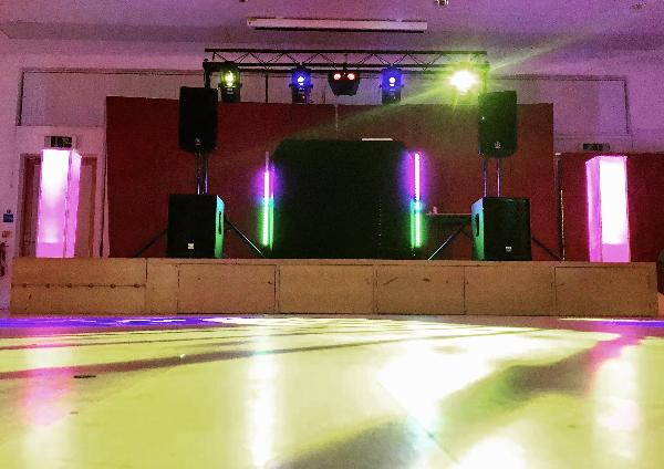 Disco set up Dec 2017
