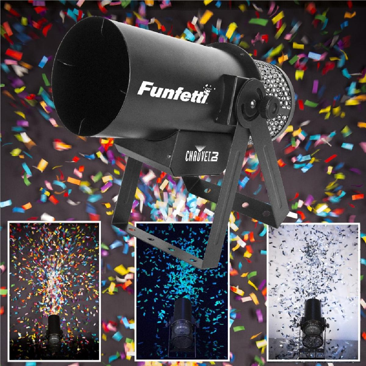 Confetti Cannons available to add to your evening