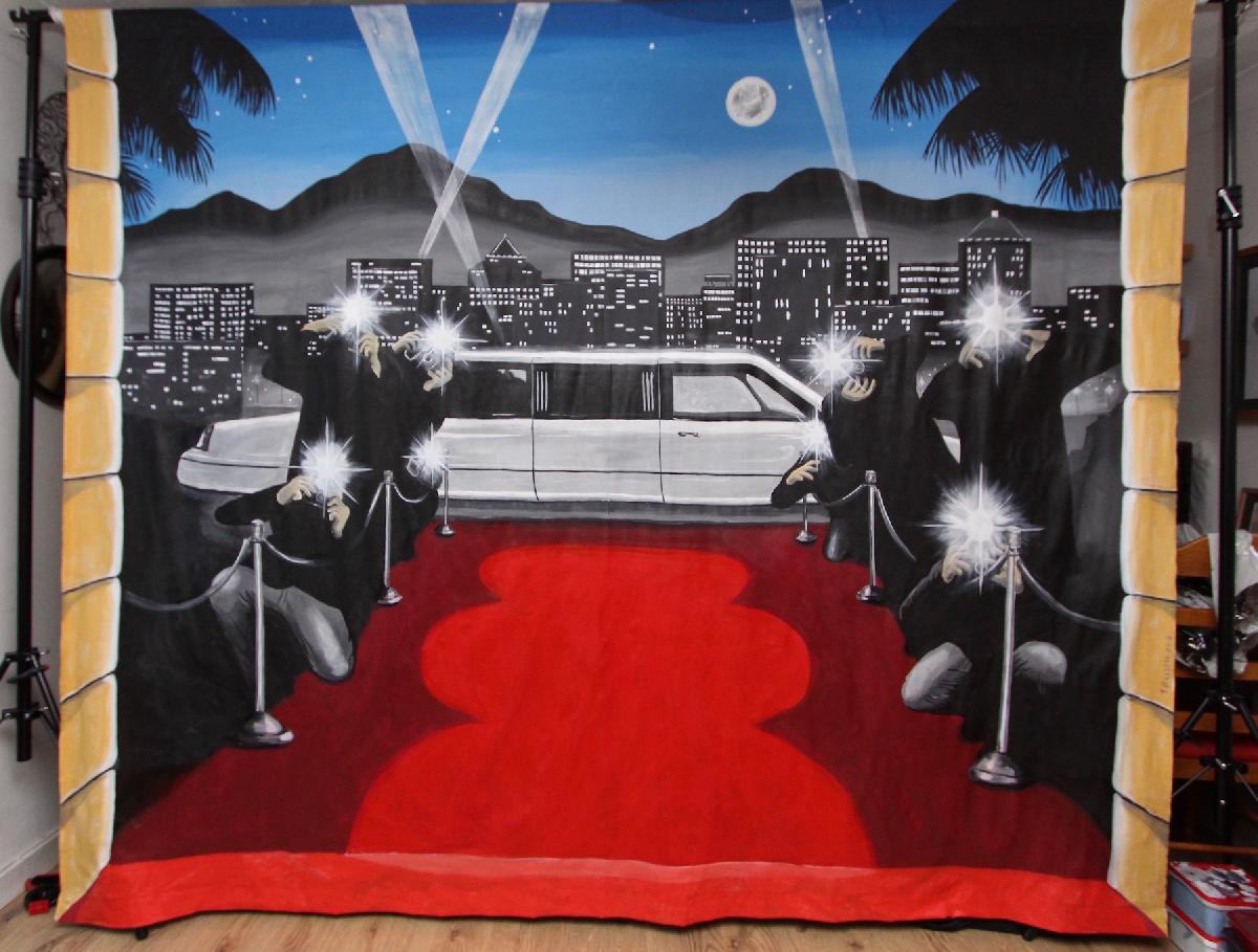 VIP Red Carpet Photography Backdrop