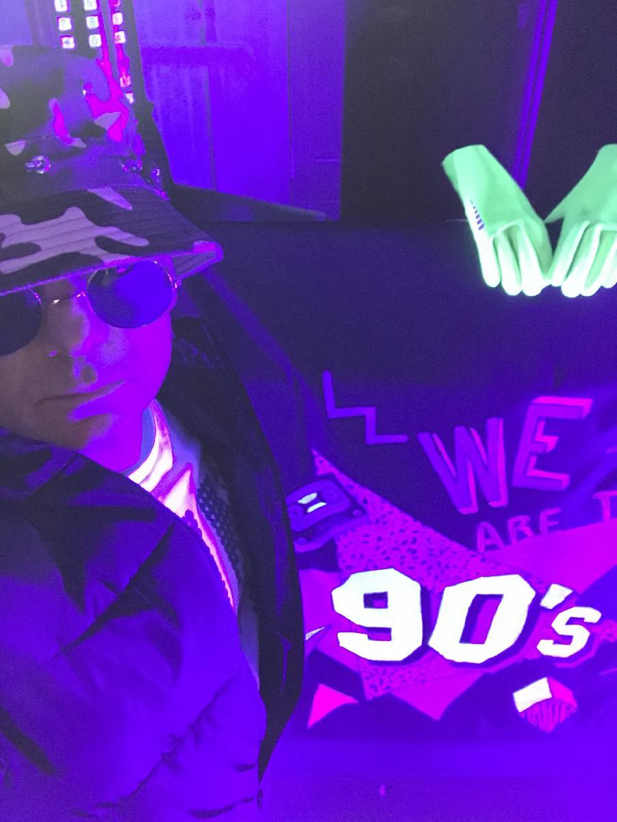 SouthSound DJ fancy dress 90s party