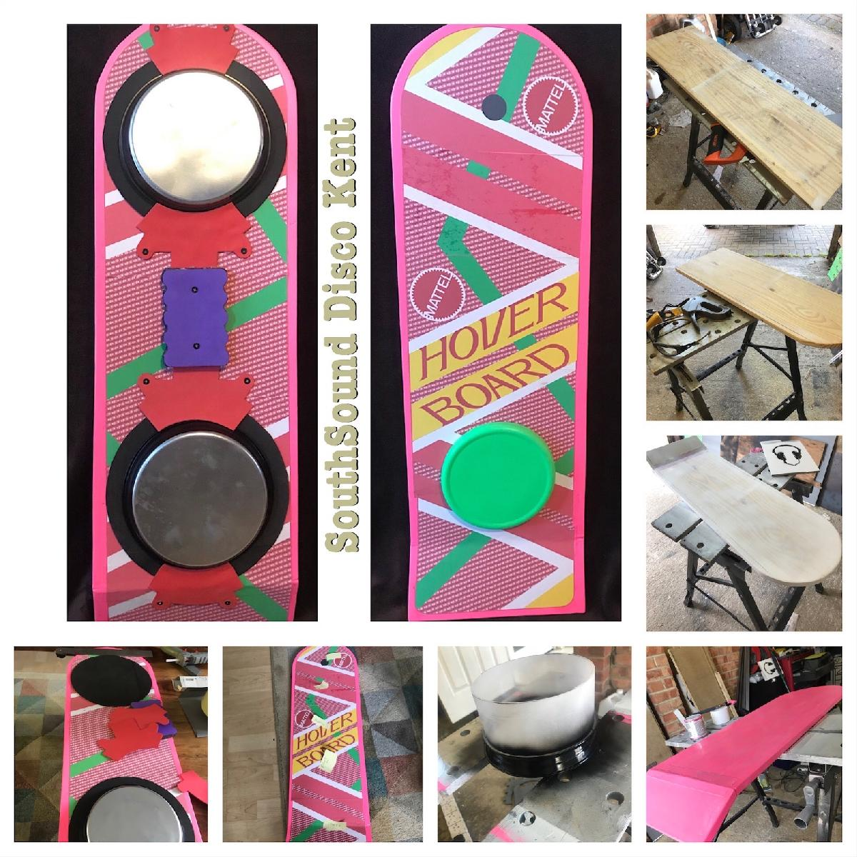 Back to the Future Hover Board Prop